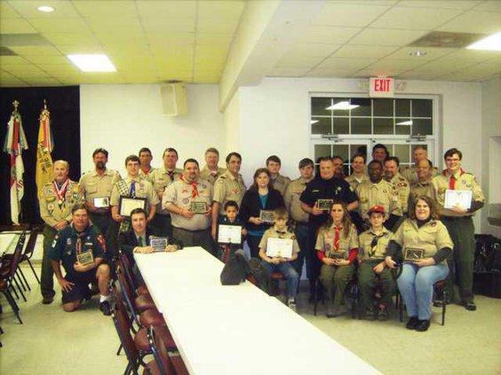 Boy Scouts group web