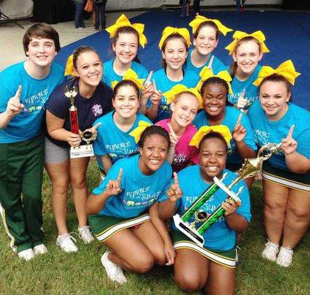 NC cheerleading