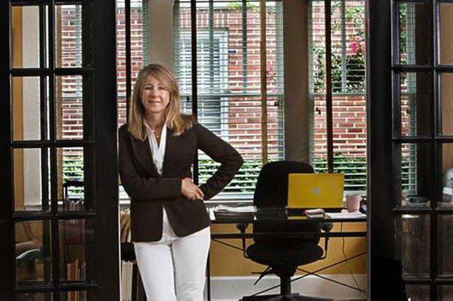 lisa standing in office