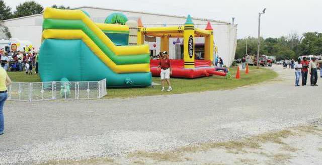 Firefest bouncy house WEB