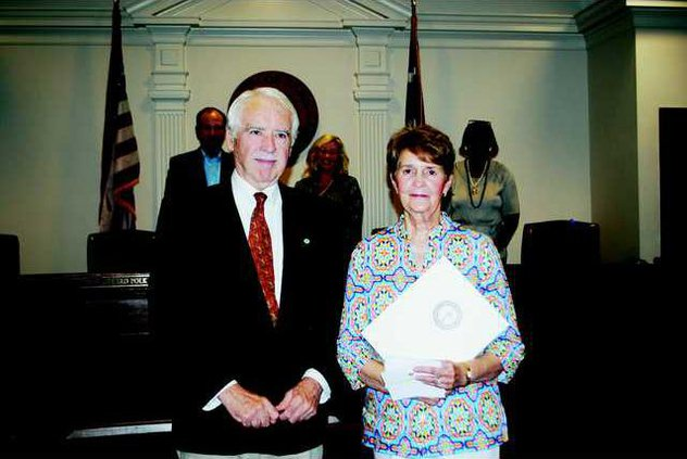 Shirley Ransom and Mayor Scully - T