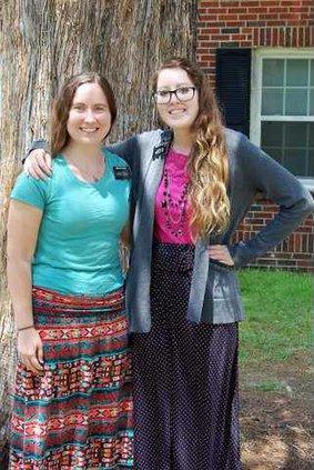 Sister Ward and Sister Henderson