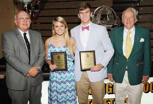 Sportsmanship Award Brook Maxwell and Trey Buckelew