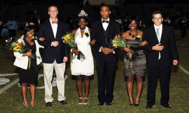 CHSHomecoming Court 2010