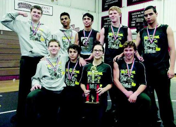 NCHS Wrestlers -T