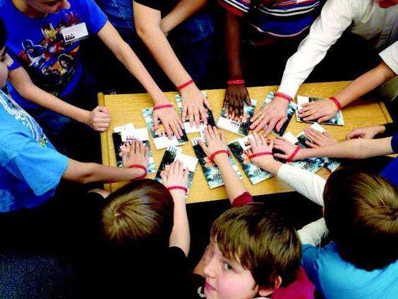 Page Turners 2014 boys bracelets