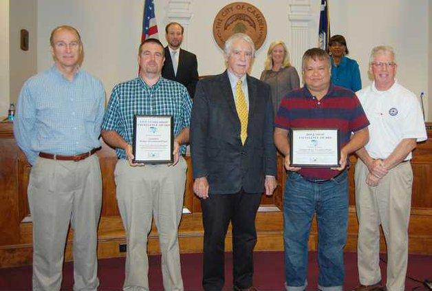 DHEC AWOP Award
