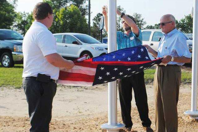 Elgin Memorial - American Flag 1