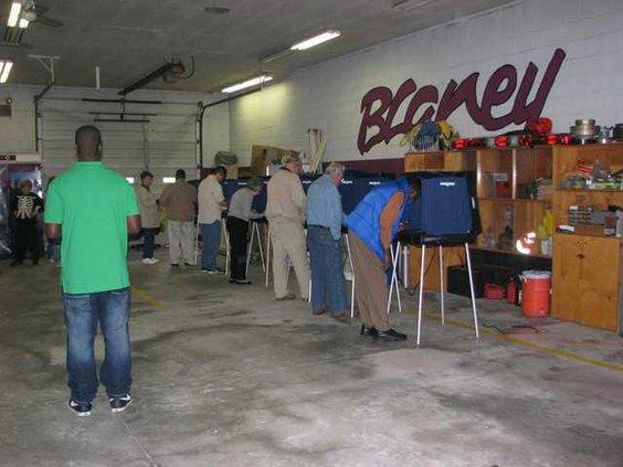 Elgin voting