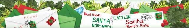 letters to santa banner