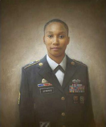 Alma Jennings 100 Faces portrait