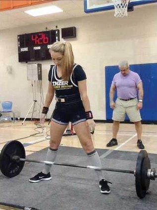 Cassidy Borowski - Weight Lifting WEB