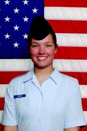 Military Photo - Elizabeth S. Wilson