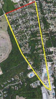 Boykin Road Closure Map Web
