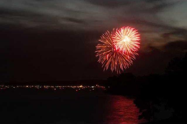 Lake Wateree Fireworks