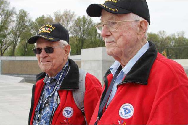 Honor Flight -- Henry FitzGeraldDon Daniels.JPG
