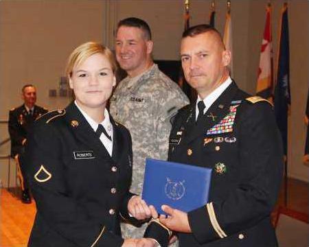 Lugoff soldier succeeds