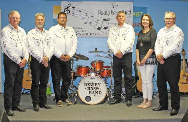 dewey bass band Web