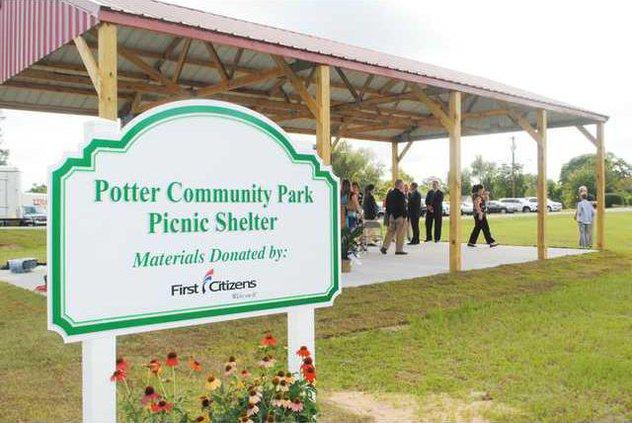 Potter Park - Shelter Sign