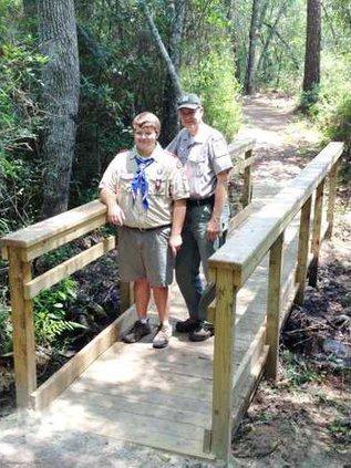 Wrobe Eagle Scout Bridge