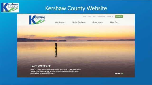 County Website Web