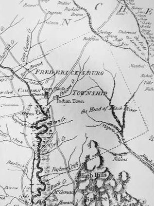 Fredericksburg Map Web