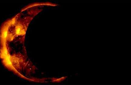 NASA Eclipse ImageTONED