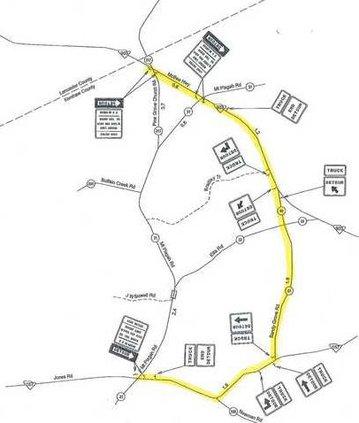 SCDOT Map Web
