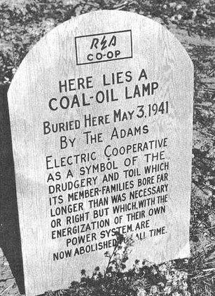 coal oil lamp