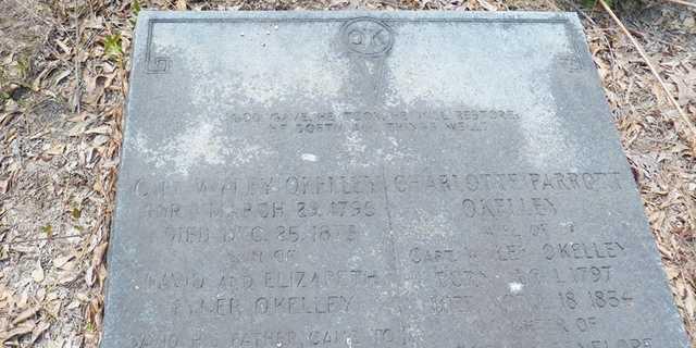 Kelley headstone 2