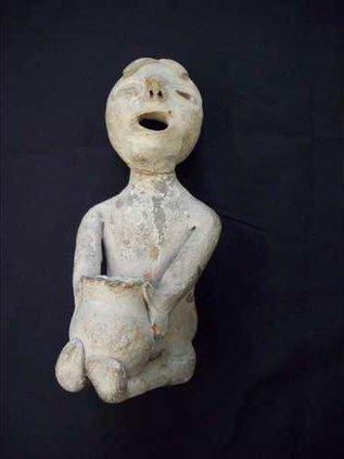Rain God figurine