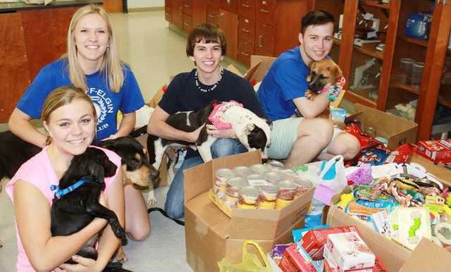 Beta Club Animal donations