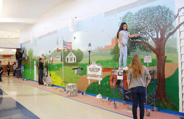 CMS Mural