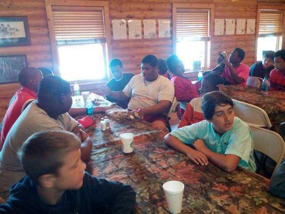 Boys at Camp Woodie
