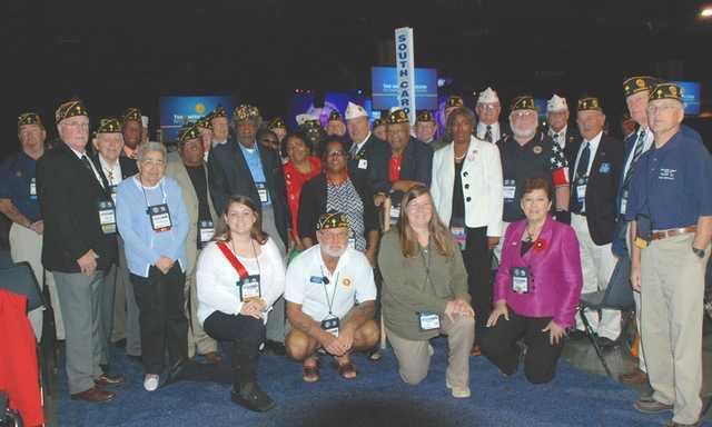 Camden American Legion Delegation WEB
