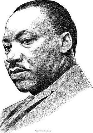 Dr King BW