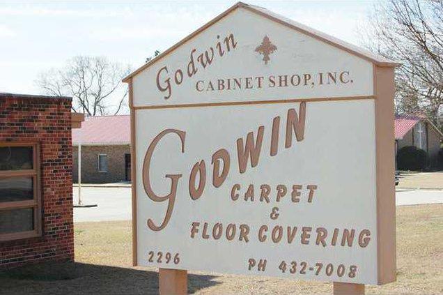 Godwin Carpet - sign