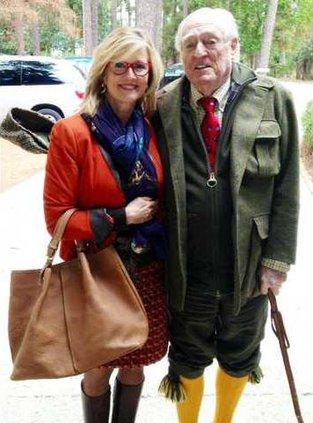 Kathleen Parker and Reid Buckley
