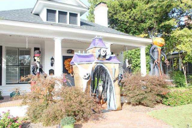 Stroud House for Halloween