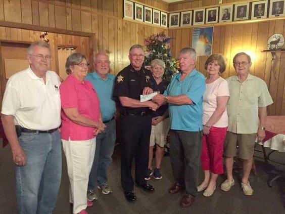 Elks Lodge Donation Web