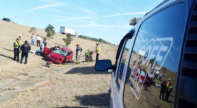 I-20 Ramp Accident
