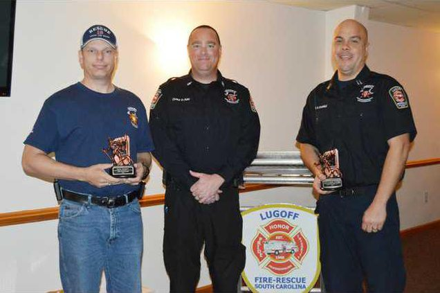 LF-R Firefighters of the Year