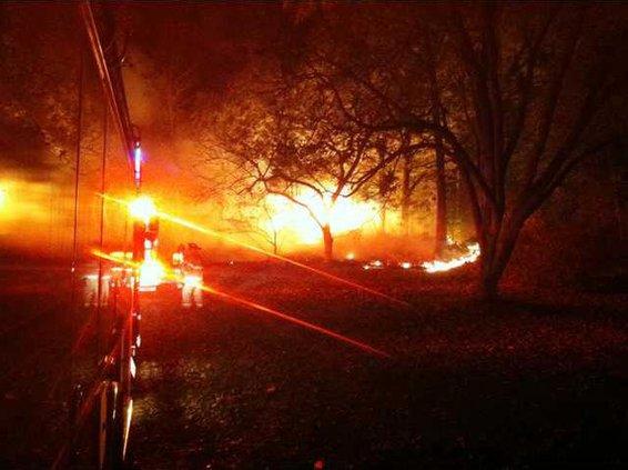 LFD Barn Fire