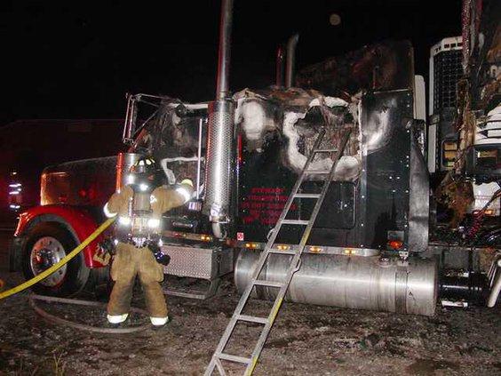 LFD Truck Fire