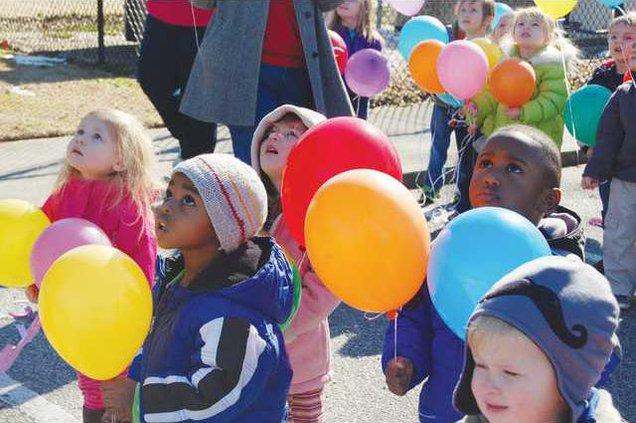 100 Days of School - Balloons