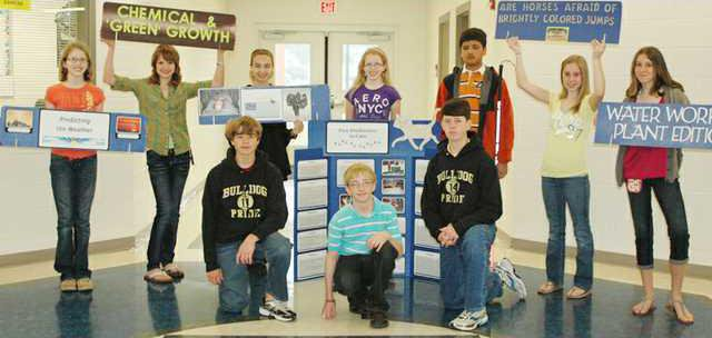 CMS Regional Science Fair Winners 2011