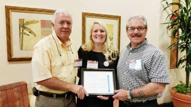 Clyburn and Blackmon SCSBA Award