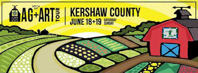 Kershaw County Ag  Art Logo