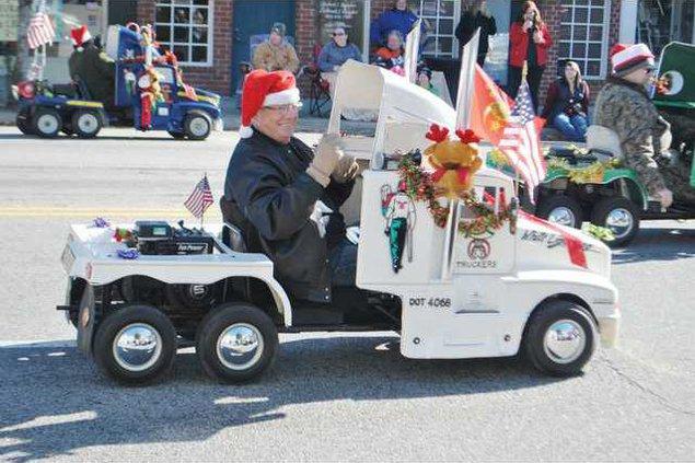 Kershaw County Parade 3 Mini Truck