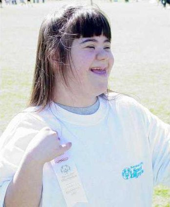 Kim Special Olympics